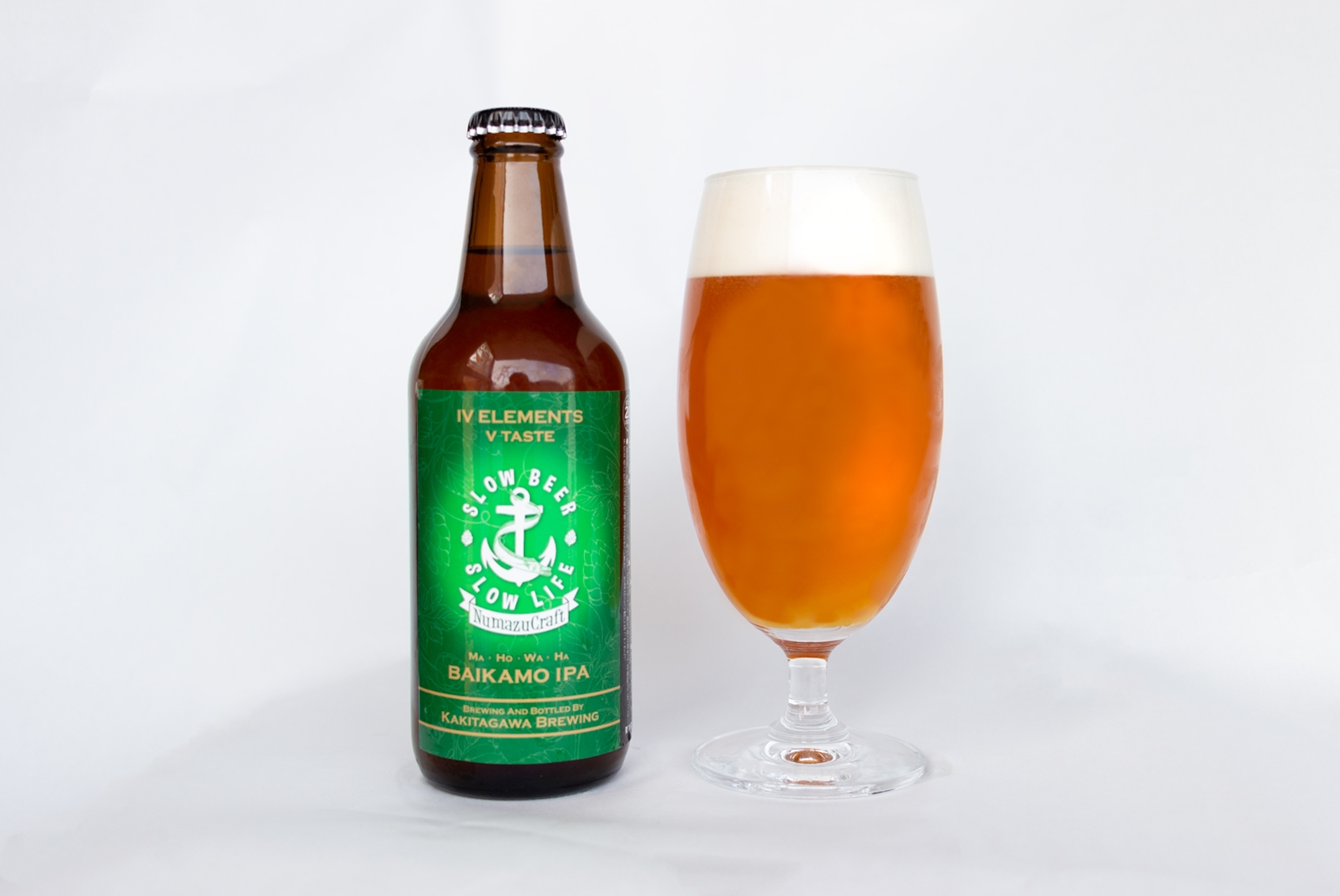 【DREAMBEERで飲めるビール】花のような香りと程よい苦味、コクのある味わいが特徴の『バイカモIPA』