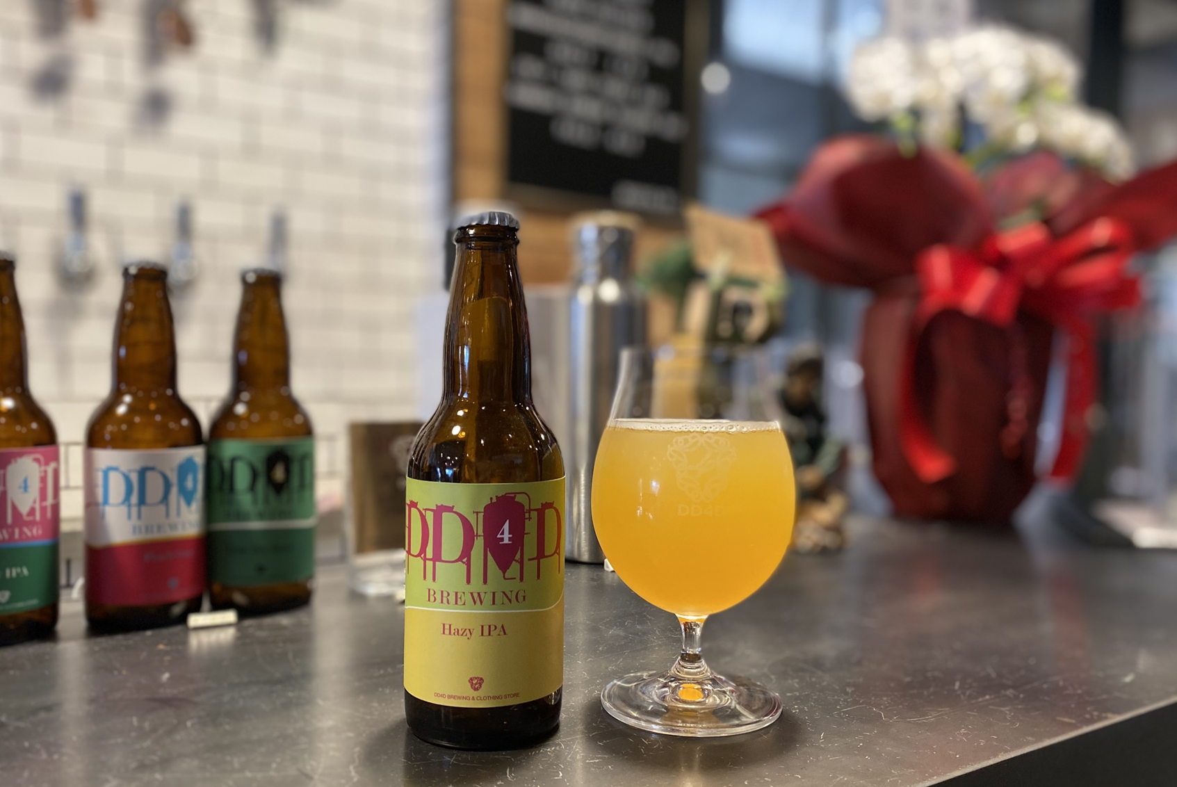 【DREAMBEERで飲めるビール】贅沢にホップを使用し、ジューシーな柑橘系の香りとソフトな口当たりが楽しめる『Hazy IPA』