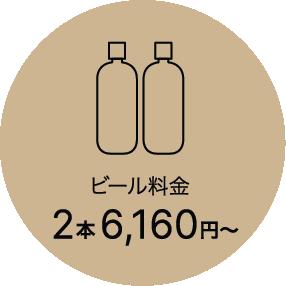 ビールご注文料金2本7,040円〜 (3,520円〜/本)内容量:1,500ml/本(+配送料)