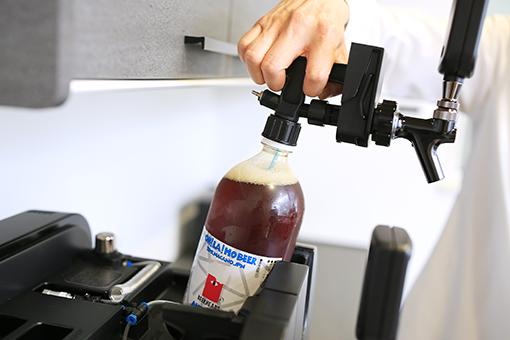 セッティング・ボトルビール接続